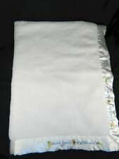 Carters Thank Heaven For Little Ones White Sherpa Baby Blanket Child of Mine