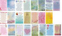 Love & Friendship Card Sentimental, Relation,Feelings, Appreciation Wallet Cards