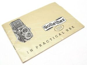 ROLLEIFLEX 2.8F IN PRACTICAL USE MANUAL - UK DEALER