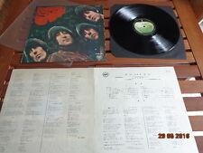 """THE BEATLES """"RUBBER SOUL"""" - LP JAPAN + INSERTS -  AP 8156"""