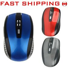 2.4GHz USB Optical Wireless Mice Mouse Receiver for Computer Tablet PC