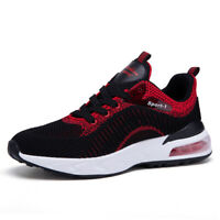Men's Air Cushion Sneakers Comfortable Breathable Casual Walking Running Shoes