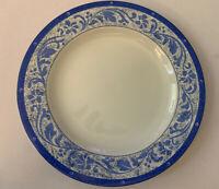 """Sakura Sue Zipkin Blue Vine Salad Plate 8 1/4"""""""