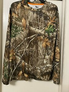 Field and Stream Camo Shirt Mens Size Large