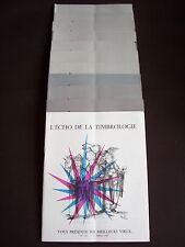 L'écho de la timbrologie 1959