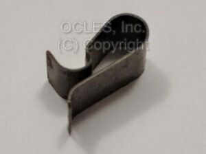 Used OEM BMW 1872146 Grille clip (Holds side grilles in place at top) E30