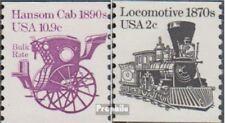 USA 1531yb,1590 (kompl.Ausg.) postfrisch 1982 Fahrzeuge