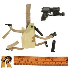 Freedom Force Delta - Pistol & Holster - 1/6 Scale - BBI - Action Figures