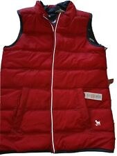 Mini boden boys reverseable gillet. Age 13/14. Red/airplane. Excellent condition