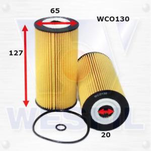 Wesfil Oil Filter - WCO130 (R2700P) Fits Hyundai, Kia