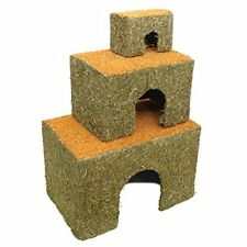 More details for rosewood real carrot top edible cottage chew toy cosy house small animal gnaw