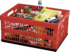 alpfa Klappbox 32 Ltr. 22 kg Einkaufskiste Klappbox Aufbewahrungsbox Faltkiste
