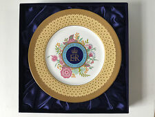 Royal Worcester Golden Jubilee Collection 27cm Plate Limited edition 500
