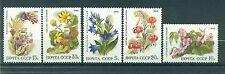 Russie - USSR 1988 - Michel n. 5847/51 - Fleurs