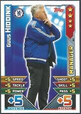TOPPS MATCH ATTAX 2015-16- #M04-CHELSEA-MANAGER-GUS HIDDINK