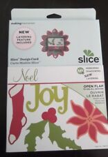NIP Slice Making Memories Design Card 35675 Noel HTF