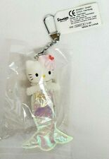 Vintage 1997 Sanrio HELLO KITTY Mascot MERMAID PRINCESS Charm Keychain NEW RARE