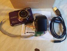 Fujifilm Finepix JV SERIE JV500 14.0MP Fotocamera Digitale-Viola
