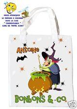 borsa caramelle halloween da strega shopping borsa regalo ref 06