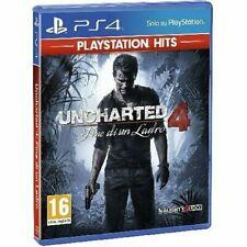 Videojuego Para PS4 Versión Ps Hits Uncharted 4 Final Por Un Ladrón