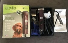 Andis ProClip AGC2 2 Speed Dog Clippers ( + extras)
