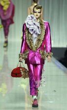 Christian Dior by John Galliano Leopard Dice Gambler Bag