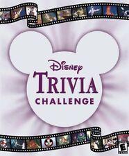 Disney: Trivia Challenge (Windows/Mac) RARE like family board game  DISC ONLY