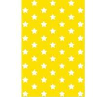 Klebefolie - Möbelfolie Stars - Sterne gelb -  45 cm x 200 cm Dekorfolie Folie