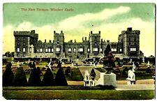 (2901) 1908 P/C G.B. WINDSOR CASTLE THE EAST TERRACE