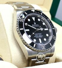 Rolex Submariner 114060 Steel Oyster Black Ceramic Bezel Watch BOX/PAPERS *MINT*