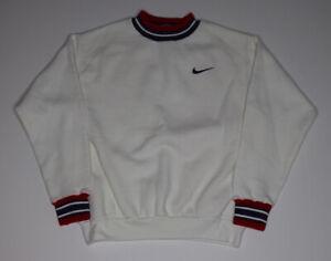 Vintage Nike Youth Crewneck Sweatshirt Size 10-12 Made In USA