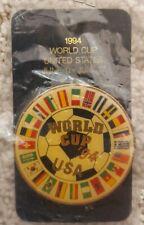 FIFA World Cup USA 1994 World Flags Enamel Pin