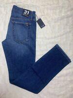 Joe's Jeans The Brixton Straight Narrow Blue Wash Jeans Size 31 x 34 Stretch