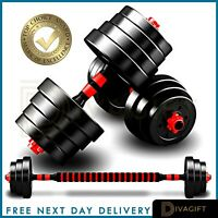 20kg/30kg Dumbbells Pair of Gym Weights Barbell/Dumbell Body Building Weight Set