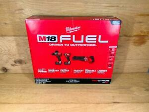 💎 Milwaukee 2998-23 M18 Fuel 3-piece Combo Kit with 2 Lithium Ion Batteries
