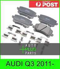 Fits AUDI Q3 2011- - Brake Pads Disc Brake (Rear)