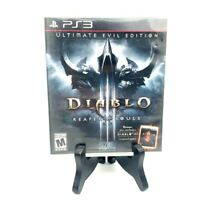 """Diablo III Reaper Of Sould Ultimate Evil Edition"" Playstation 3 Excellent!"