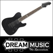 ESP E-II TE-7 EII 7-String Electric Guitar Black Finish w/ EMG Pickups RRP$3149
