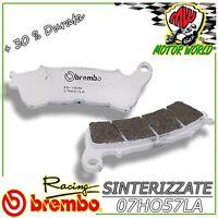 07HO57LA Pastillas Brembo Sinter Delanteros Honda CBF Edición Limitada ABS 1000