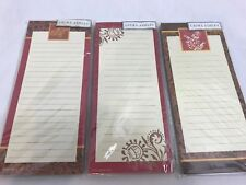Lot of 3 Laura Ashley Note Pads