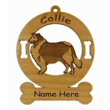 Collie Rough Stand Dog Breed Ornament Personalized With Your Dogs Name 2183