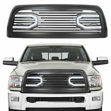 For 10-18 Dodge Ram 2500 3500 Big Horn Front Bumper Grille Grill +Shell & Lights (Fits: Dodge Ram 2500)