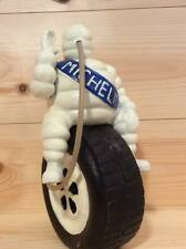MICHELIN Tyres Advertising Figure Cast Iron Repro Michelin Man Inflating Tyre