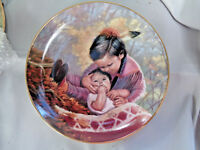 ARTAFFECTS Perillo Tender Loving Care Collector Plate Children of the Prairie