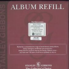 Stanley Gibbons Postal Stamp Page Albums