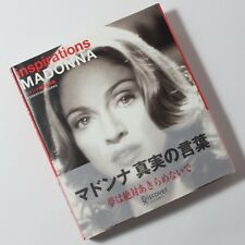"""""""inspirations MADONNA ESSENTIAL WORKS"""" Japanese Edition, Hardcover, F/S"""