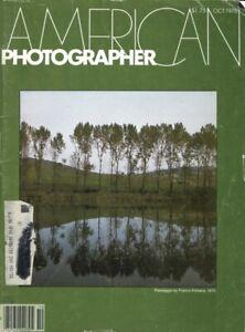 American Photographer October 1978: Ralph Steiner, Joyce Baronio Nudes