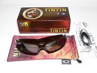 Oakley Gascan Tintin 3D Hobbit Garage Sonnenbrille Sunglasses Antix Splice Cell