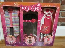 "MY LIFE AS 18"" DOLL'S 3 PACK OUTFIT CLOTHING SET--#18913--NEW--FACTORY SEALED"