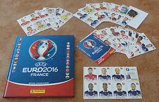Panini Euro 2016 French Version Complete set Hardcover Album +Update set & Bonus